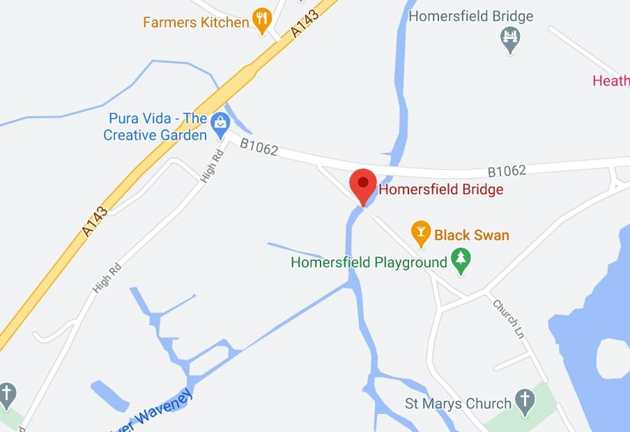 Homersfield Park Map
